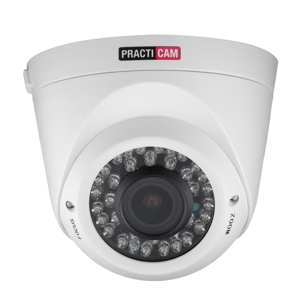 MHD видеокамера купольная PRACTICAM PT-MHD1080P-C-IR-V