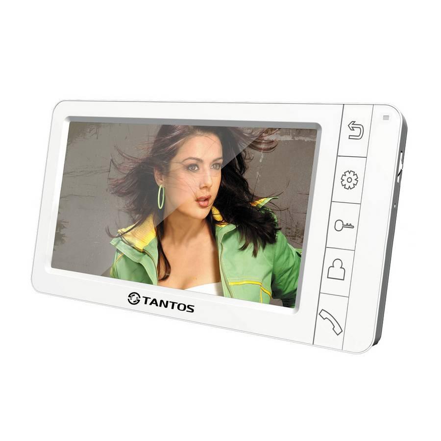 Монитор видеодомофона TANTOS Amelie SD, белый