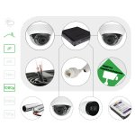 Комплект видеонаблюдения IP 1080p для помещения