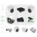 Комплект видеонаблюдения HD 5 Мп лайт для помещения