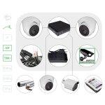 Комплект видеонаблюдения HD 5 Мп для помещения
