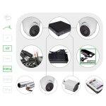 Комплект видеонаблюдения HD 1080p для помещения